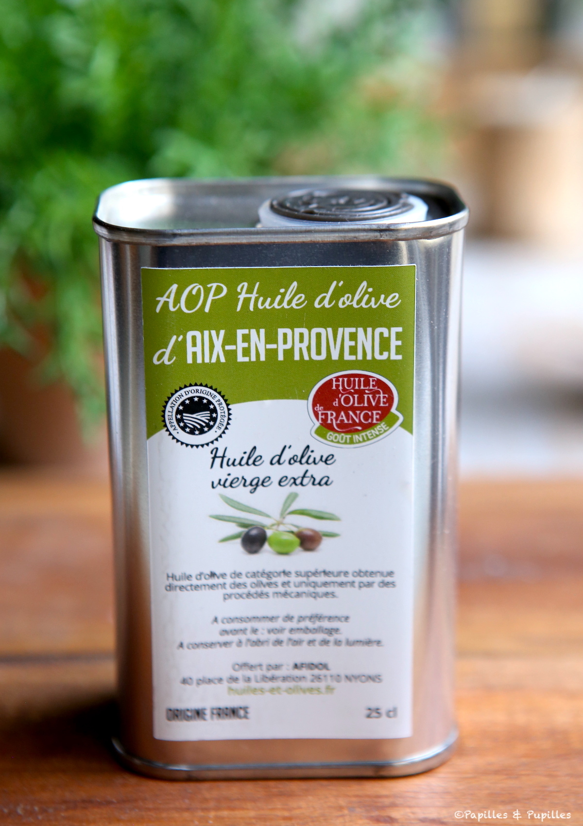 Huile d'olive d'Aix en Provence AOP