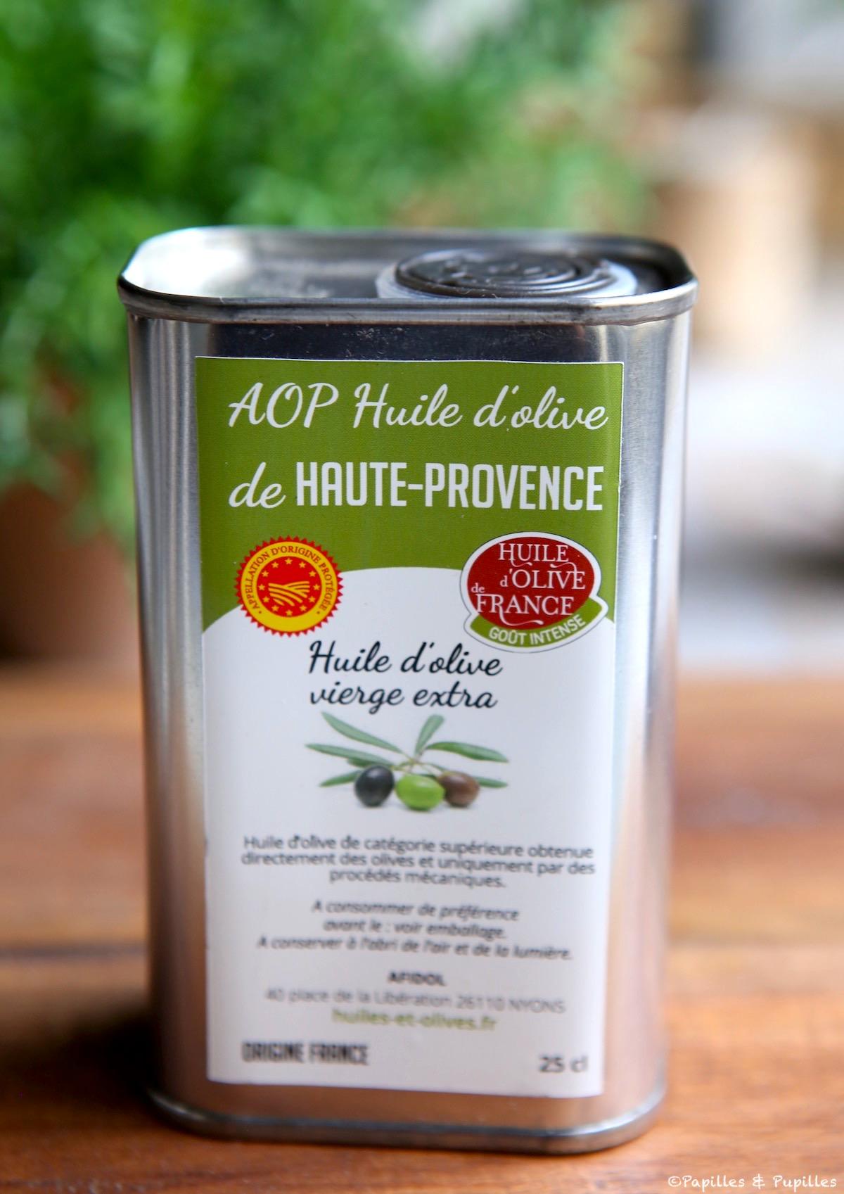 Huile d'olive de Haute Provence AOP