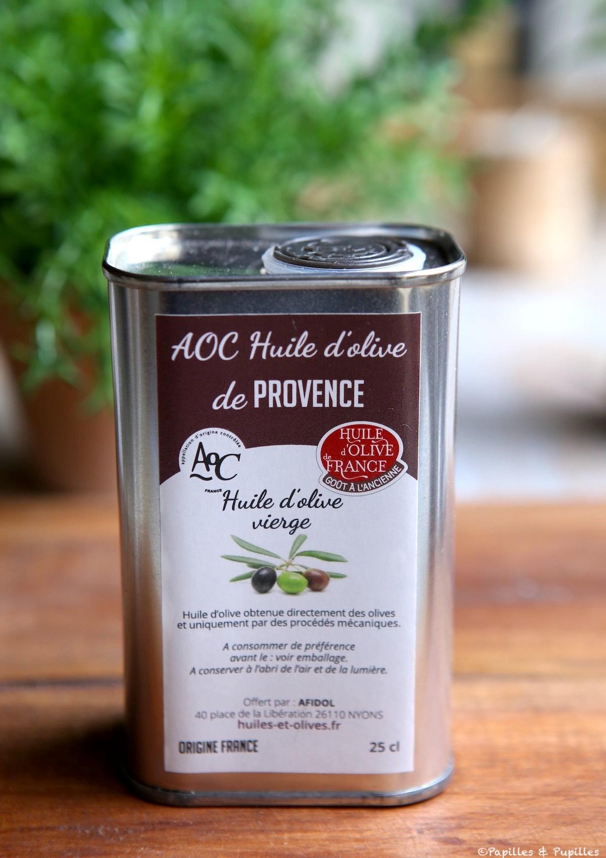 Huile d'olive de Provence AOC