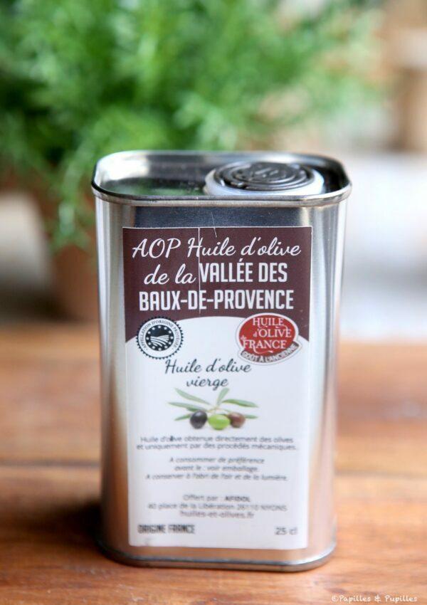 Huile d'olive de la Vallée des Baux de Provence AOP