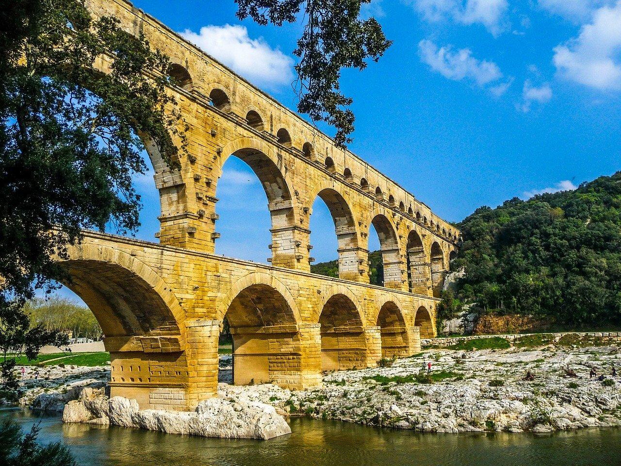 Pont du Gard ©2990108 CC0 Pixabay