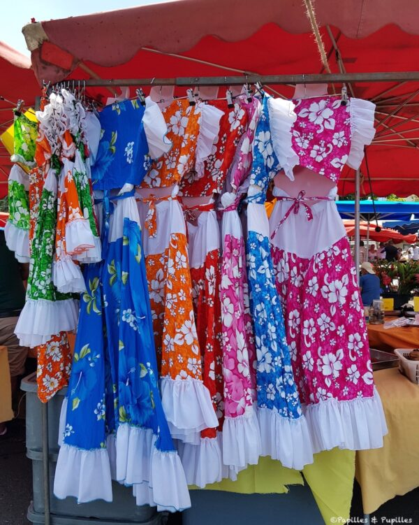Robes colorées
