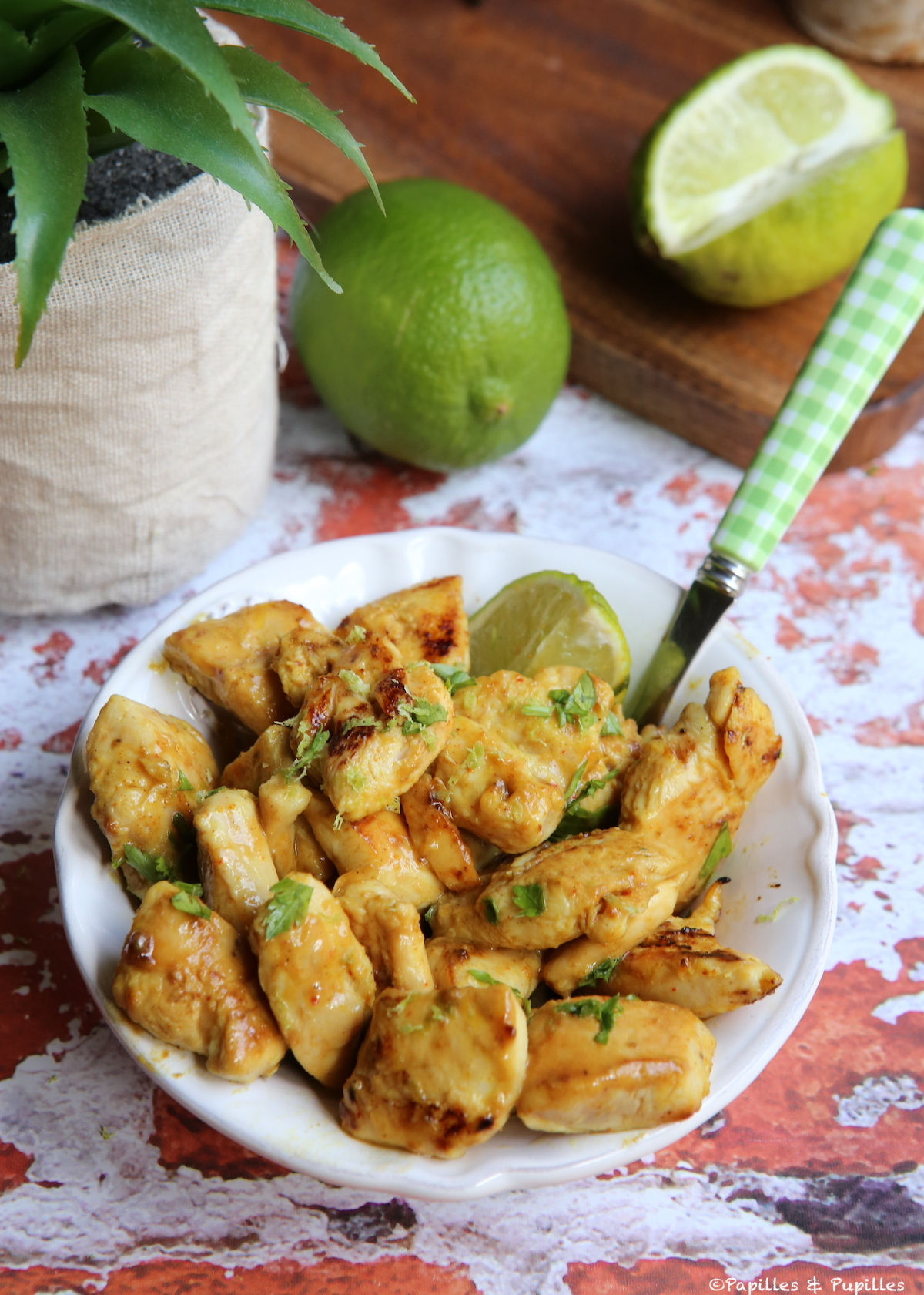 Aiguillettes De Poulet A La Moutarde Au Miel Et Au Curry