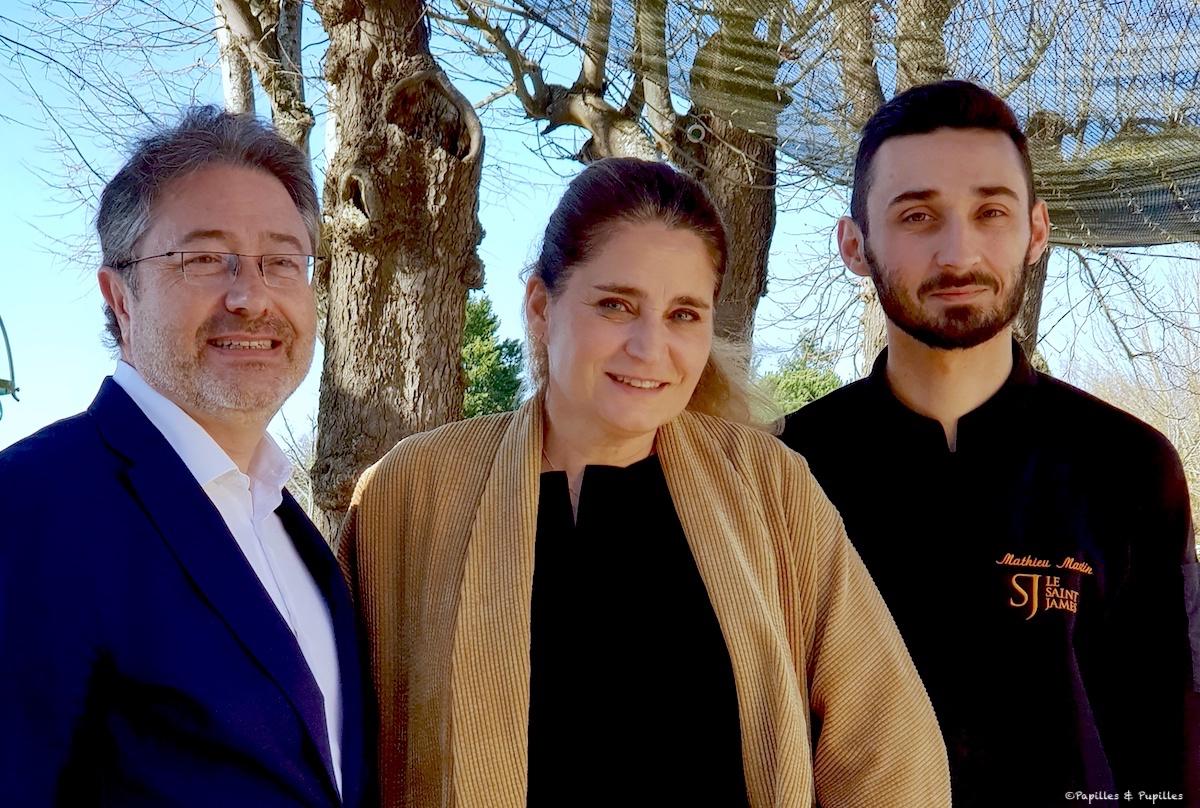Clarence Grosdidier, Marie Borgel, Mathieu Martinj