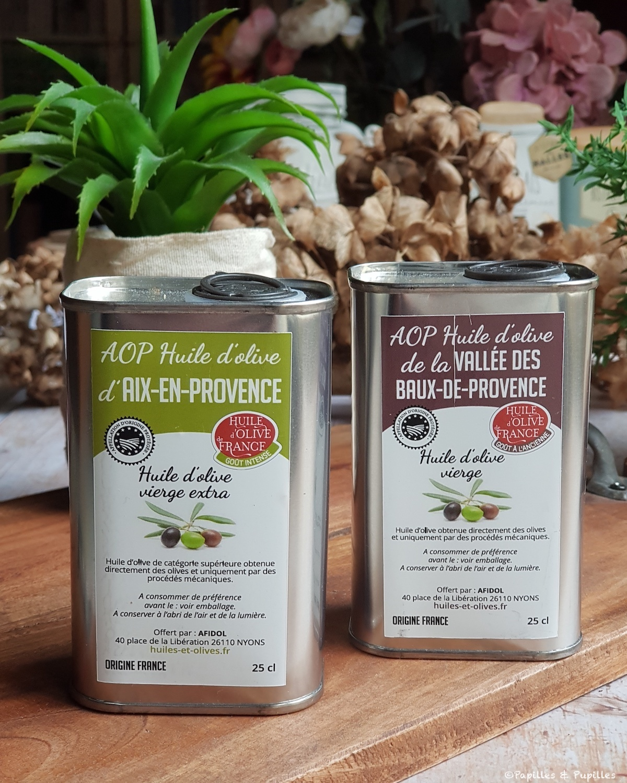 Huiles d'olive de France