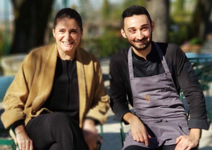 Marie Borgel et Mathieu Martin