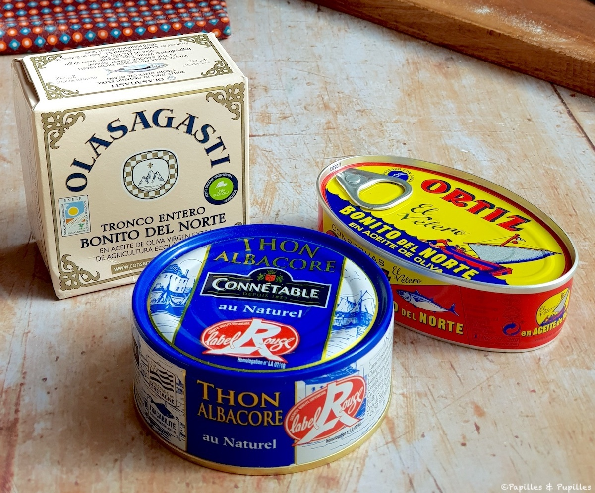 Boites de thon