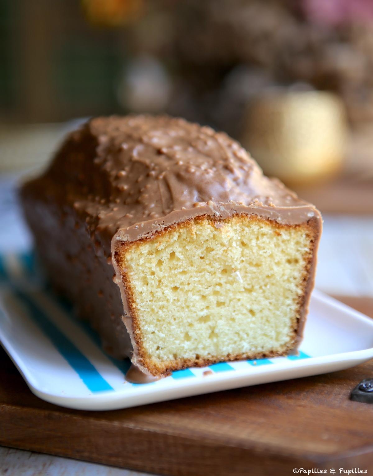 Cake yaourt - amandes praliné