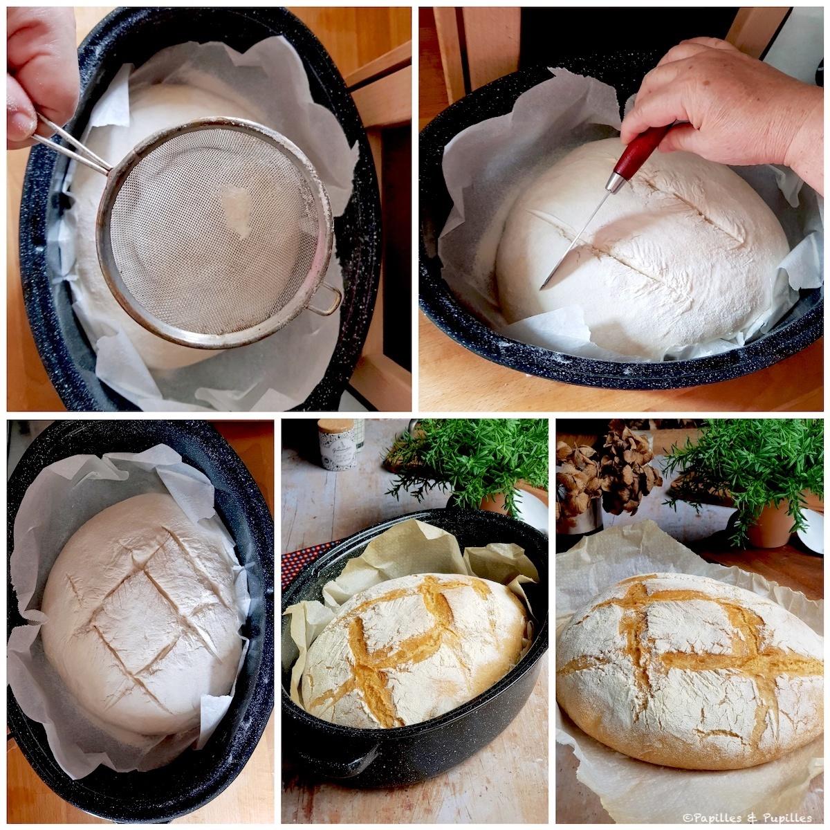 Grignes sur le pain
