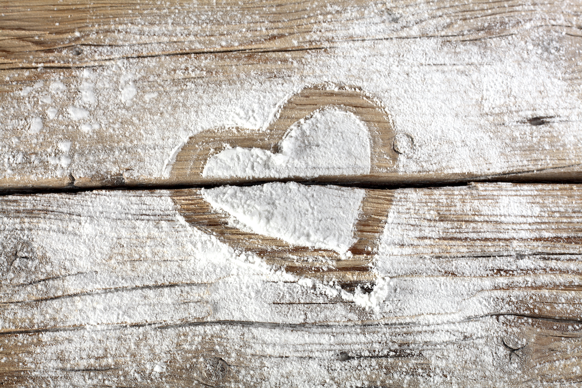 Coeur en farine ©S_Photo shutterstock