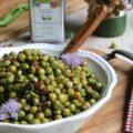 Petits pois oignons croustillants ciboulette ©Anne Lataillade