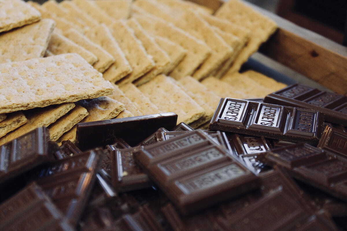 Biscuits Graham et chocolat Hershey's ©piqsels.com CC0
