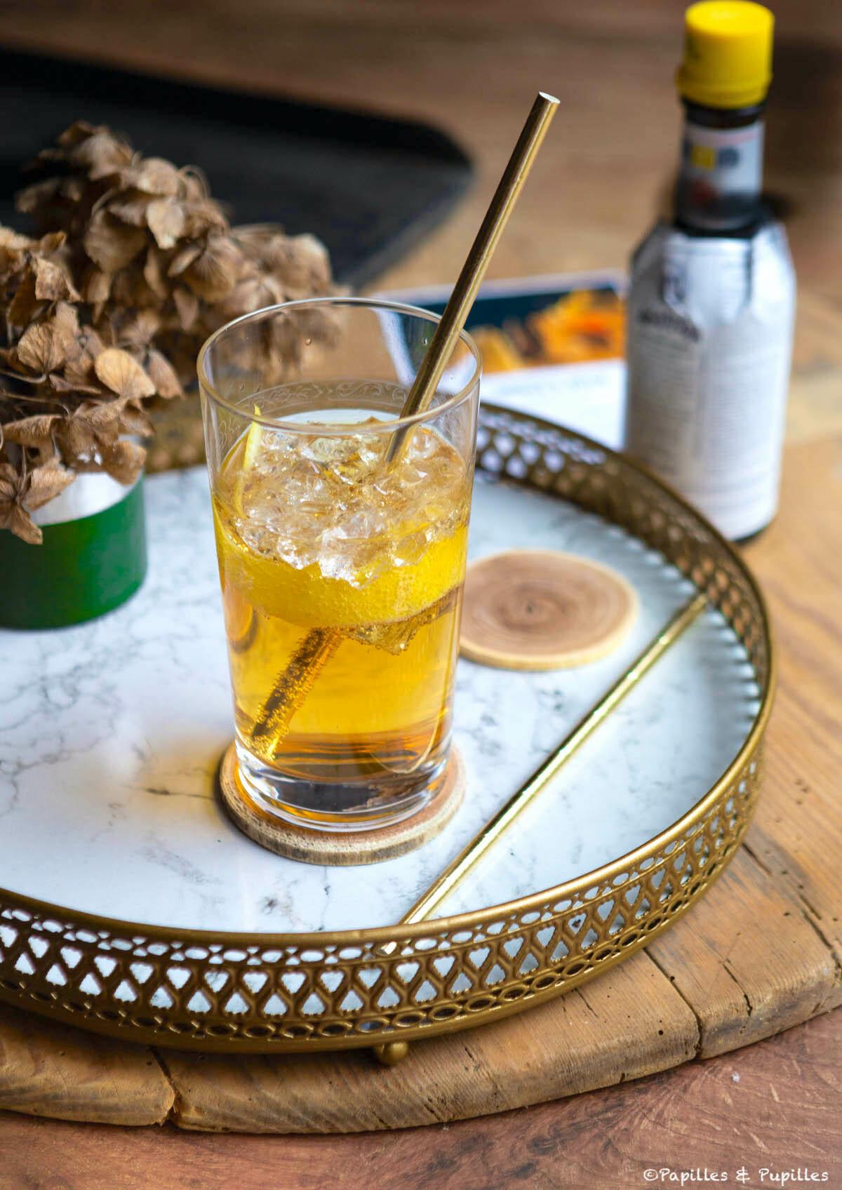 Cocktail Horse's Neck (Cognac)