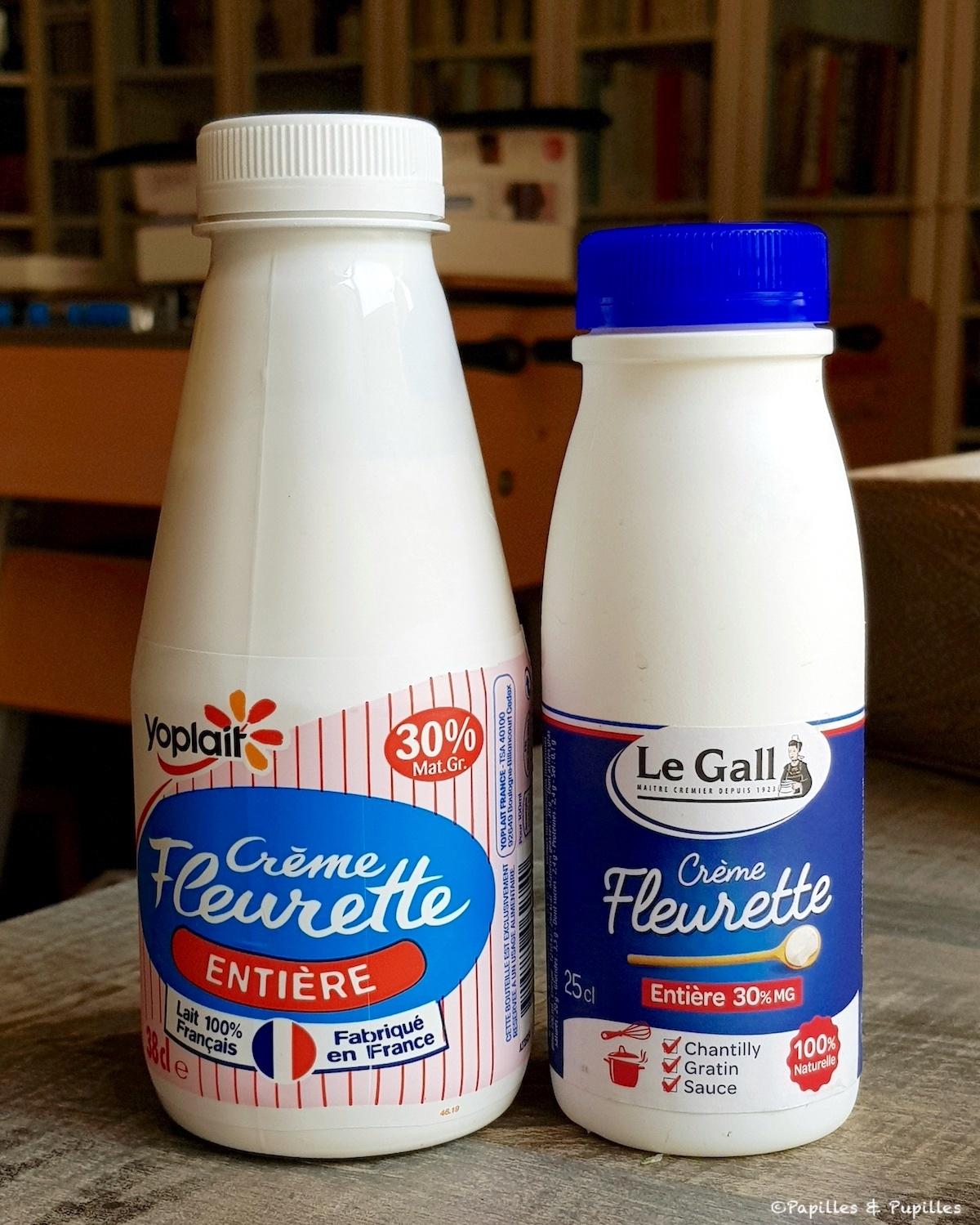 Crème fleurette