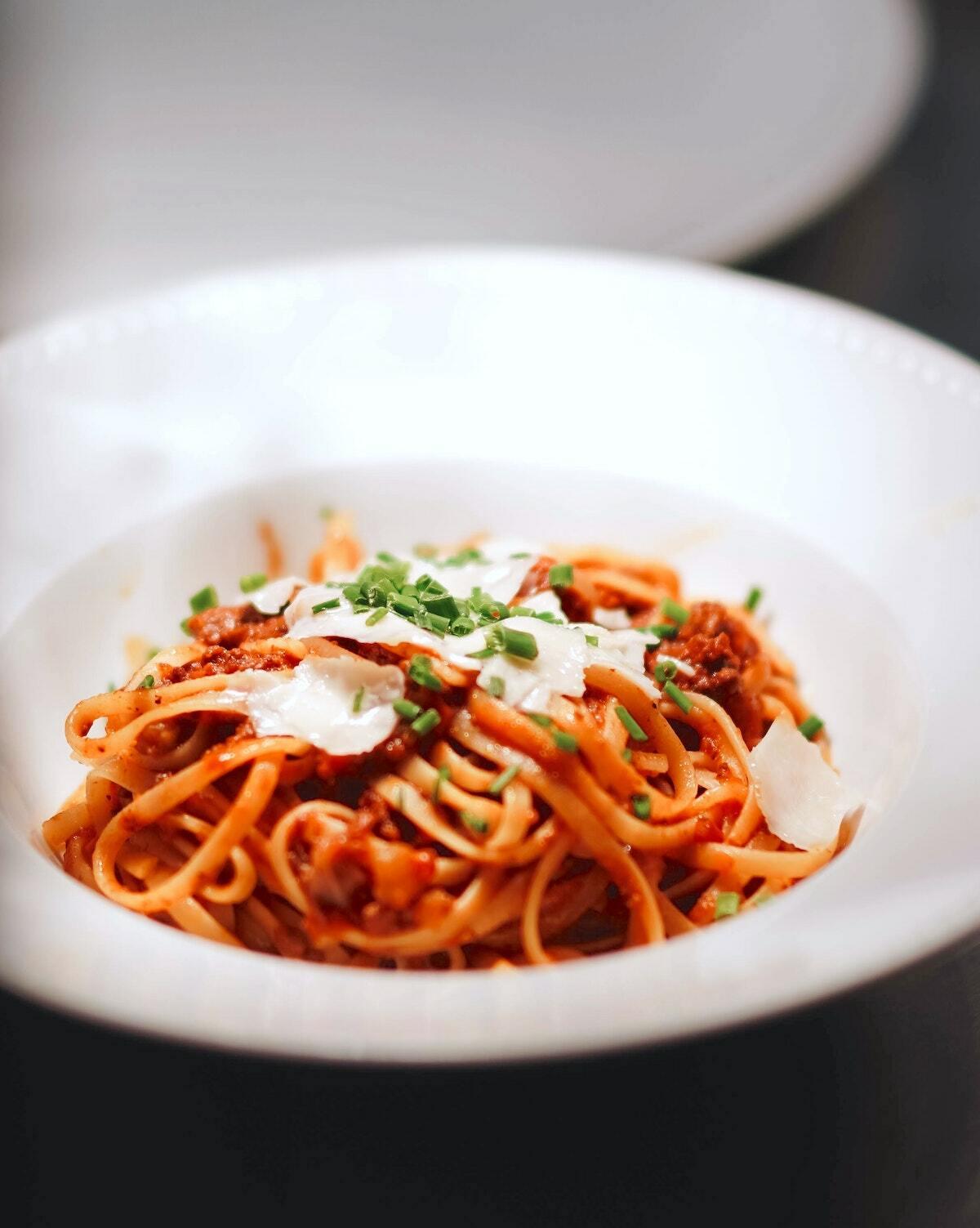 Spaghettis sauce tomate