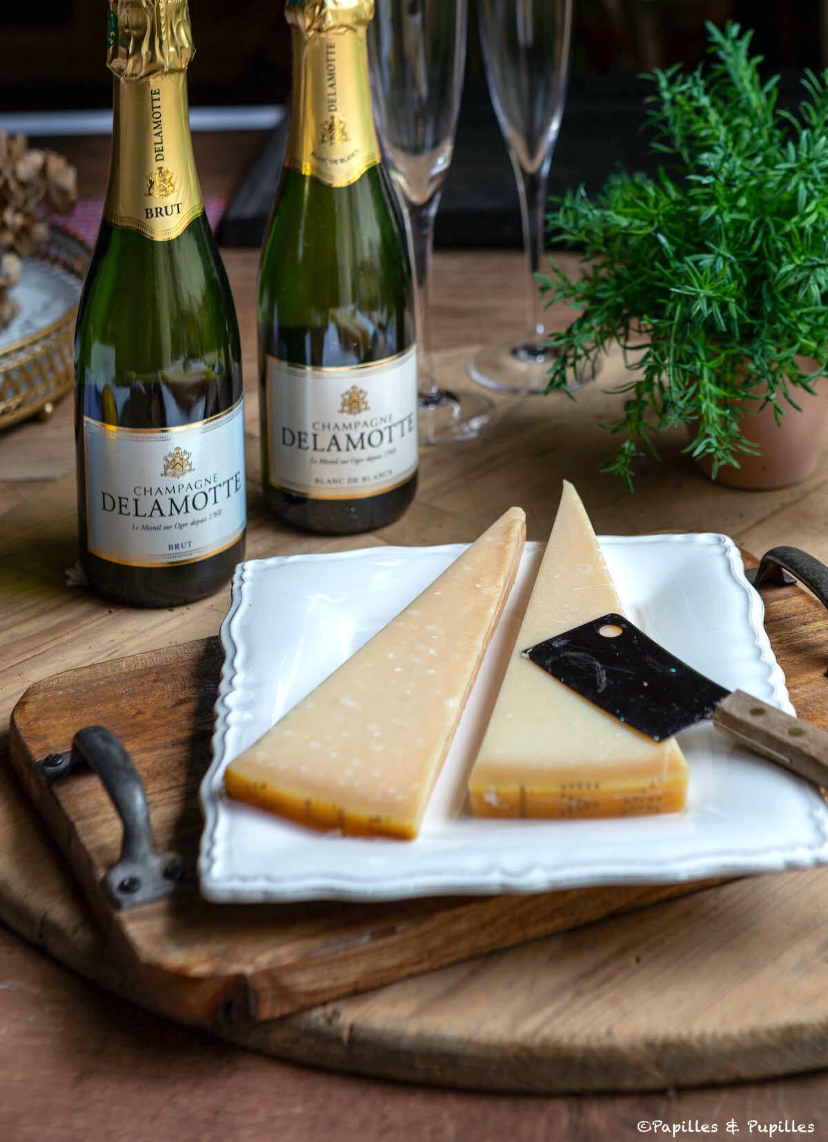 Accord champagne Parmesan