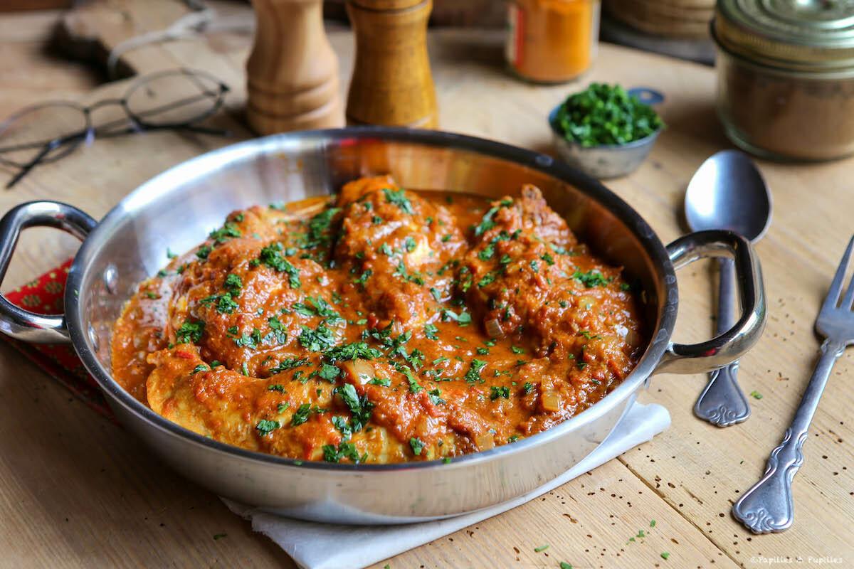 Curry de lapin au lait de coco