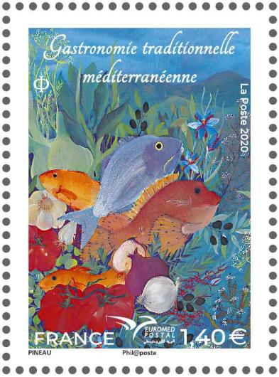 Gastronomie traditionnelle Méditerrannée