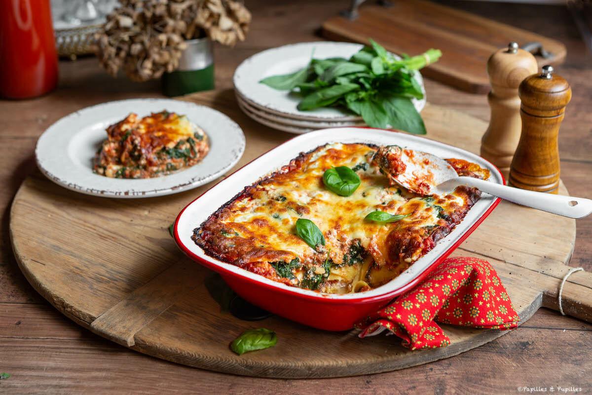 Lasagnes Epinards Ricotta