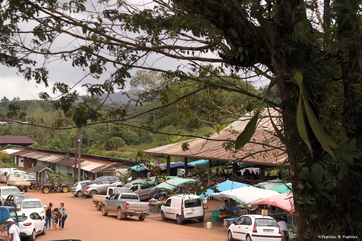 Le marché de Cacao, Guyane