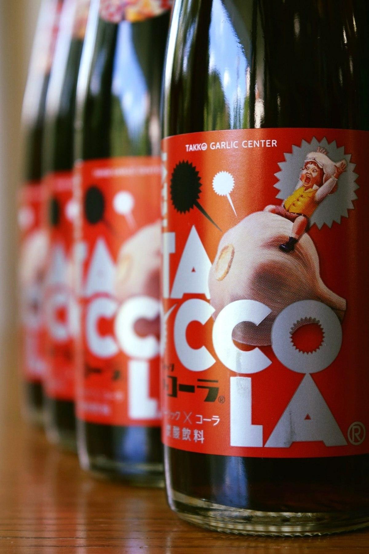 Tacco Cola - Boisson cola Ail ©VisitHachinohe