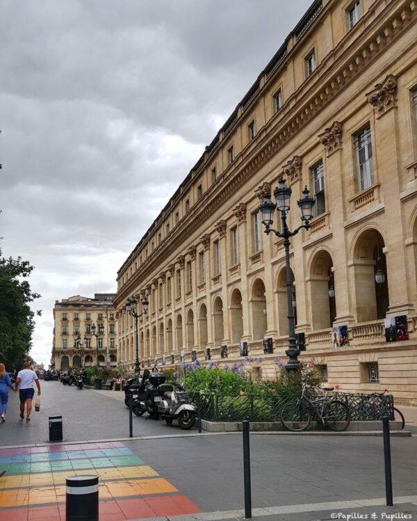 Bordeaux - Grand Théâtre, cours du Chapeau Rouge
