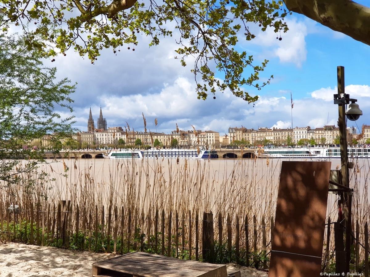 Bordeaux, vue depuis la rive droite