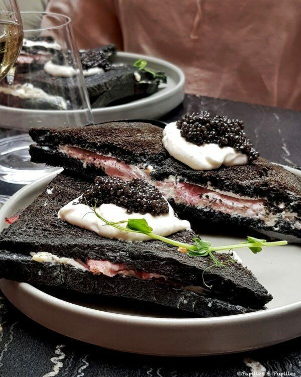 Croque Monsieur au Caviar