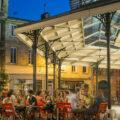 Place du marché des Chartrons - Terrasses - Halle des Chartrons©Vincent Bengold