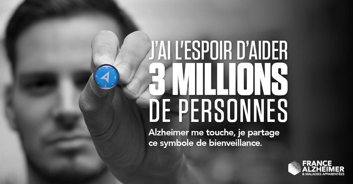 Symbole France Alzheimer