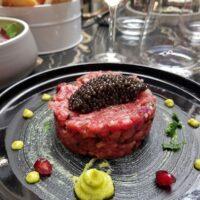 Tartare de boeuf au caviar