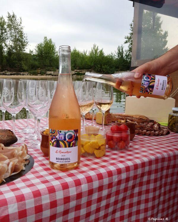 Dégustation de vins sur l'Epinoche
