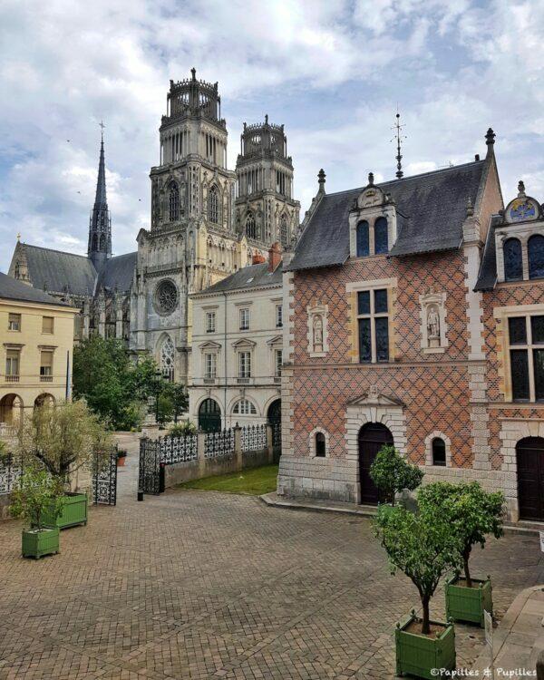 Cathédrale d'Orléans et Hôtel Groslot