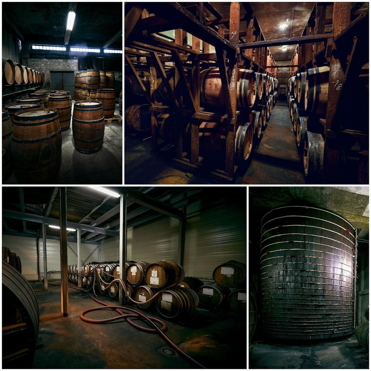 Fabrication du vinaigre d'Orléans chez Martin Pouret