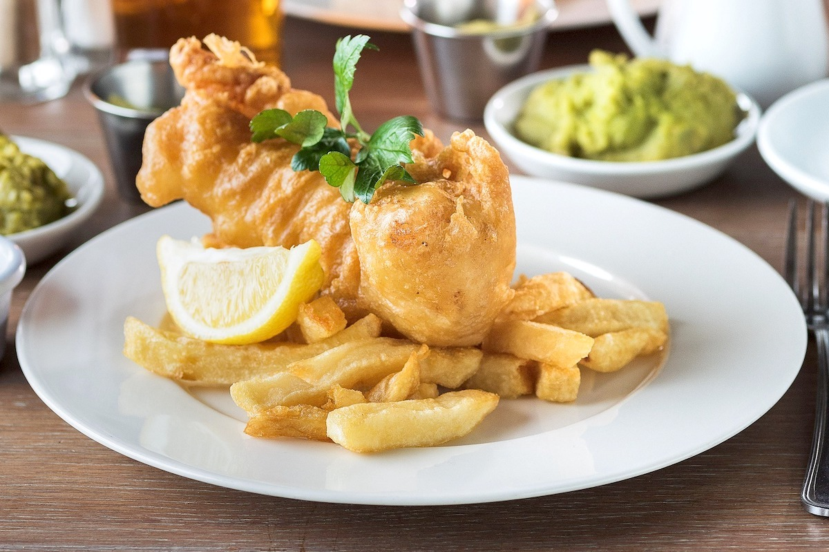 Fish and chips ©Rick Stein