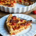 Quiche poulet ratatouille