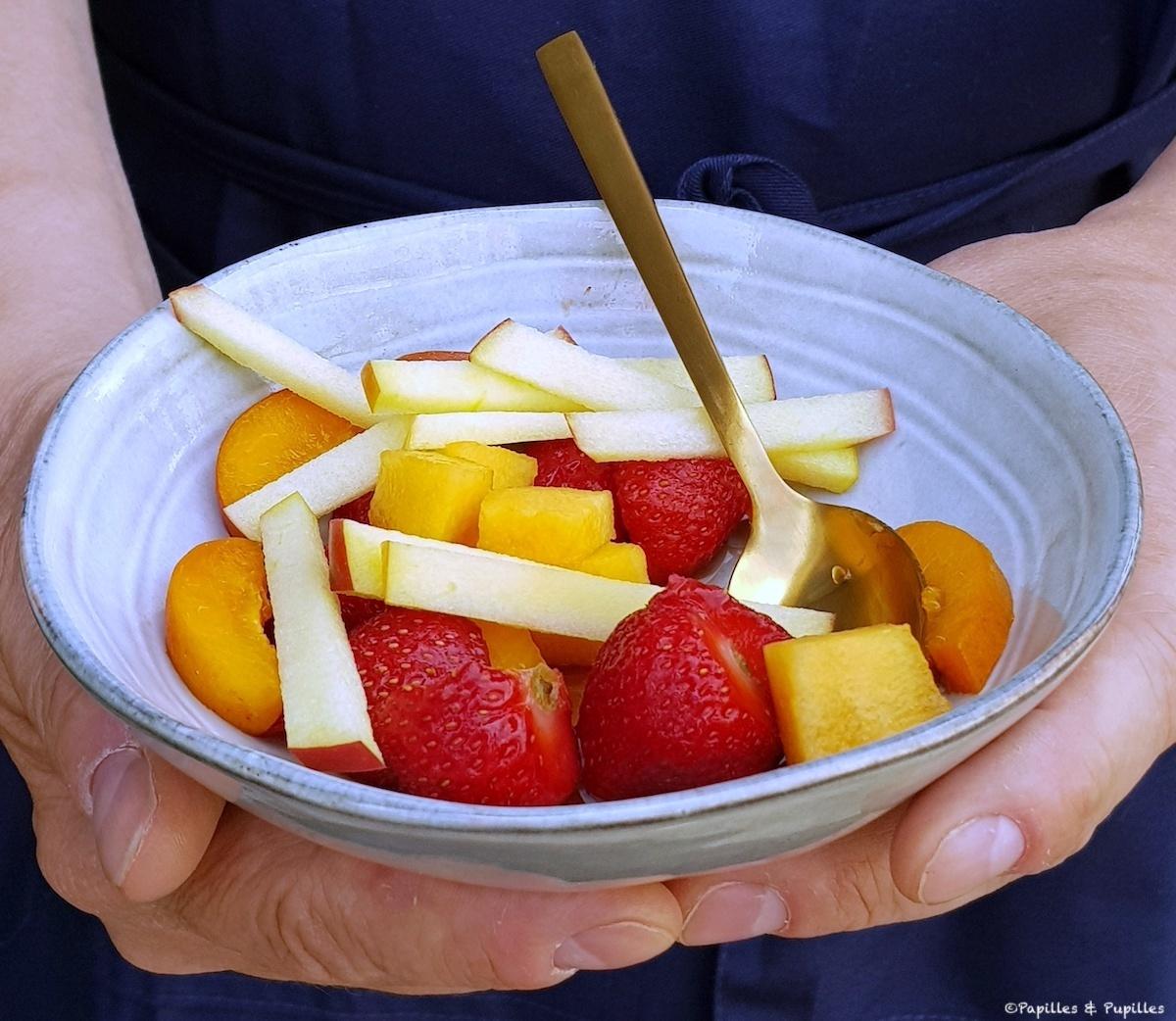 Salade de fruits au vinaigre d'Orléans