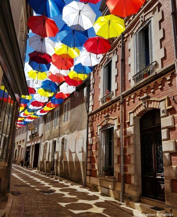 Parapluies, Sancerre