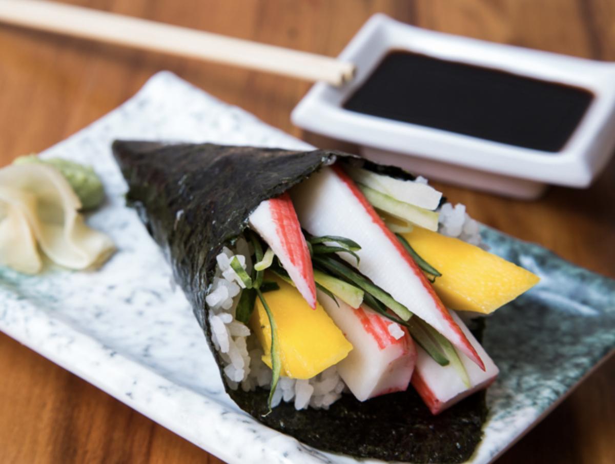Temaki Sushi ©Gustavo Fumero licence CC BY 2.0