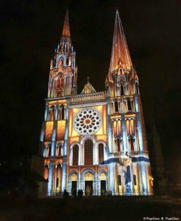 Cathédrale de Chartres en lumière