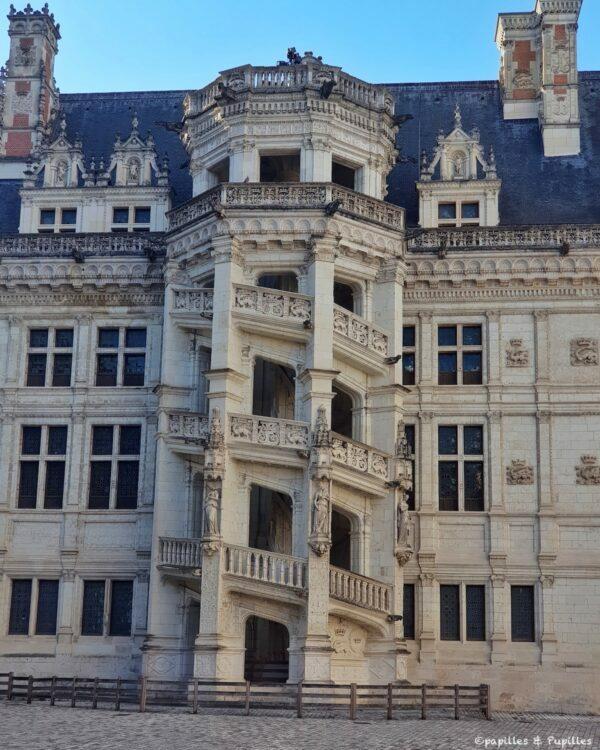 Escalier - Château royal de Blois