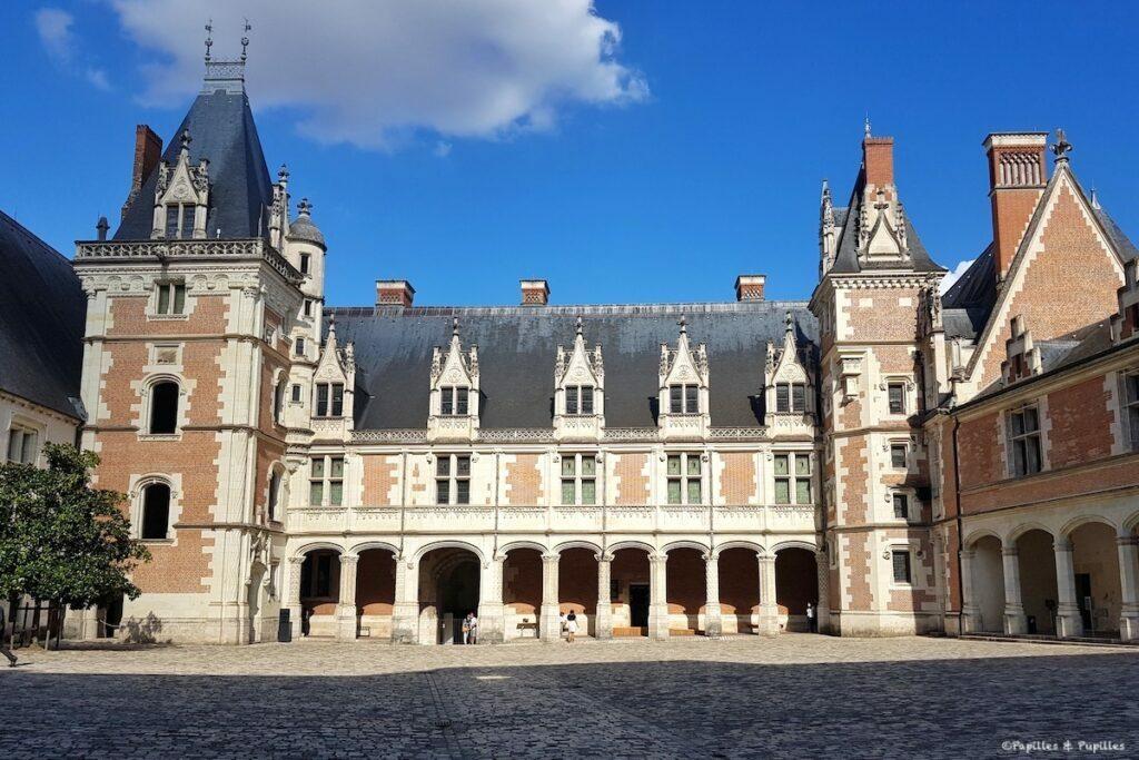 Château royal de Blois - Cour intérieure
