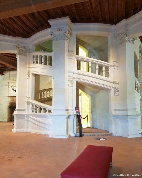 Escalier de Chambord