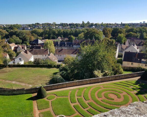 Jardin de l'Evêché - Chartres