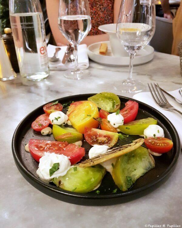 Salade de tomates brasserie