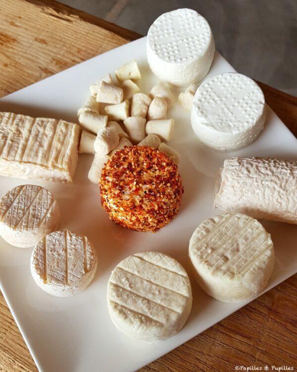 Fromages de chèvre - La ferme des Noës