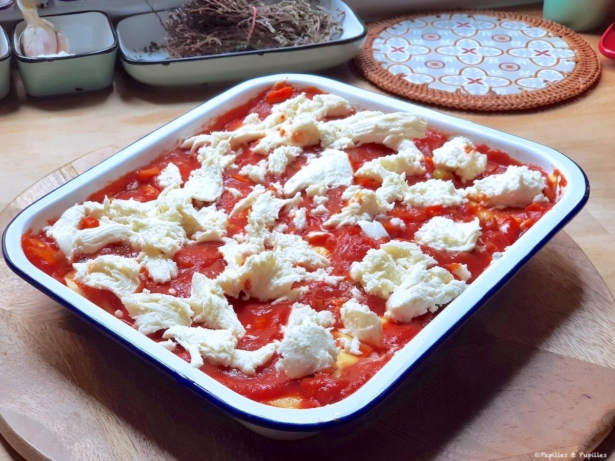 Lasagnes avant cuisson