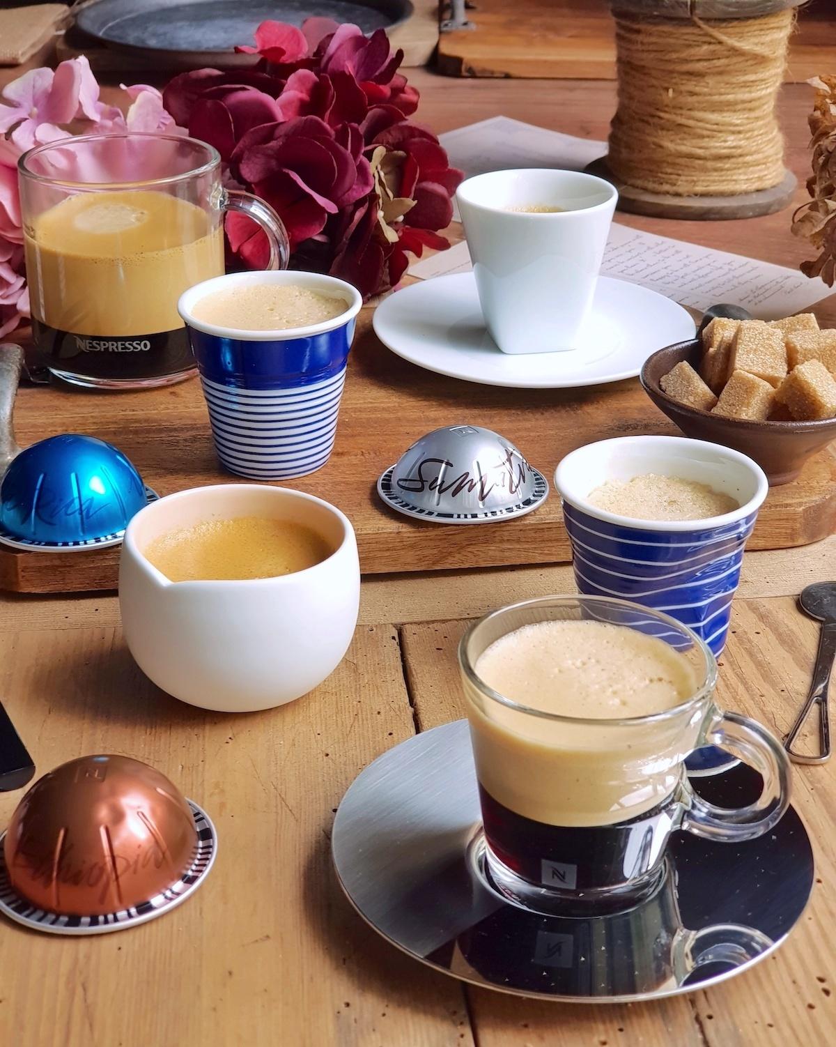 Cafés Collection Vertuo Master Origins Nespresso