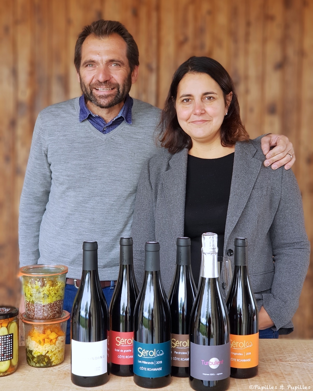 Stéphane et Carine Serol