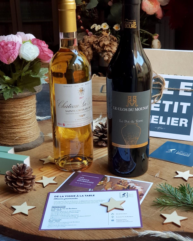 Atelier de l'école du vin de Bordeaux